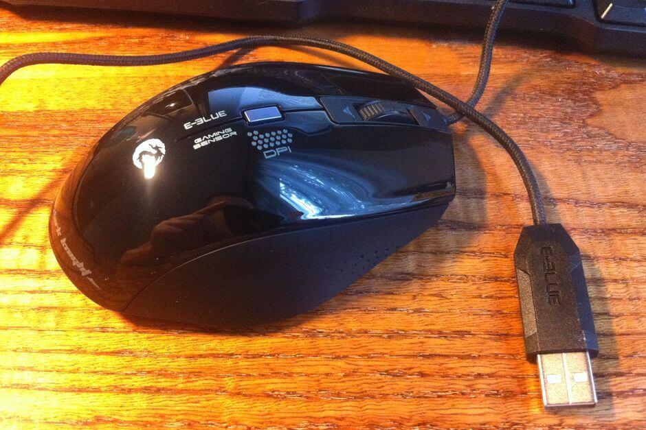 Обзор геймерской мыши E-BLUE Cobra DarkKnight