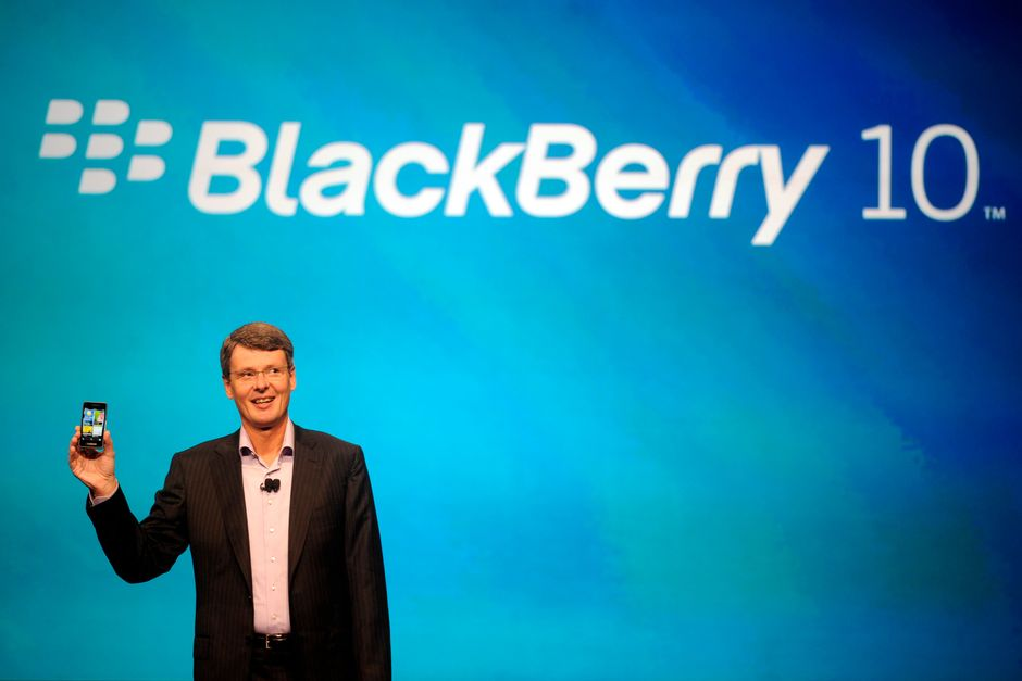 Обзор презентации BlackBerry10 в Нью-Йорке