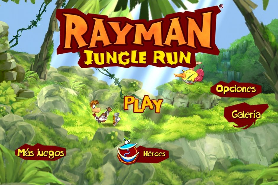 Rayman Jungle Run — идеальная казуалка
