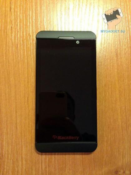 внешний вид Blackberry Z10
