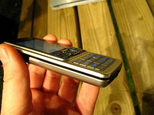 стальной корпус Nokia 6300