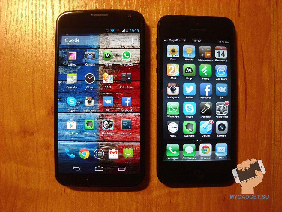 Дисплей Motorola Moto X