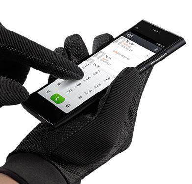 работа в перчатках Xiaomi Mi3