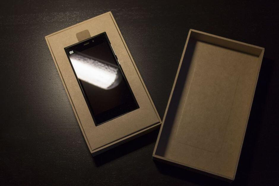 упаковка Xiaomi Mi3