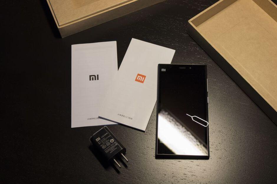комплектация Xiaomi Mi3