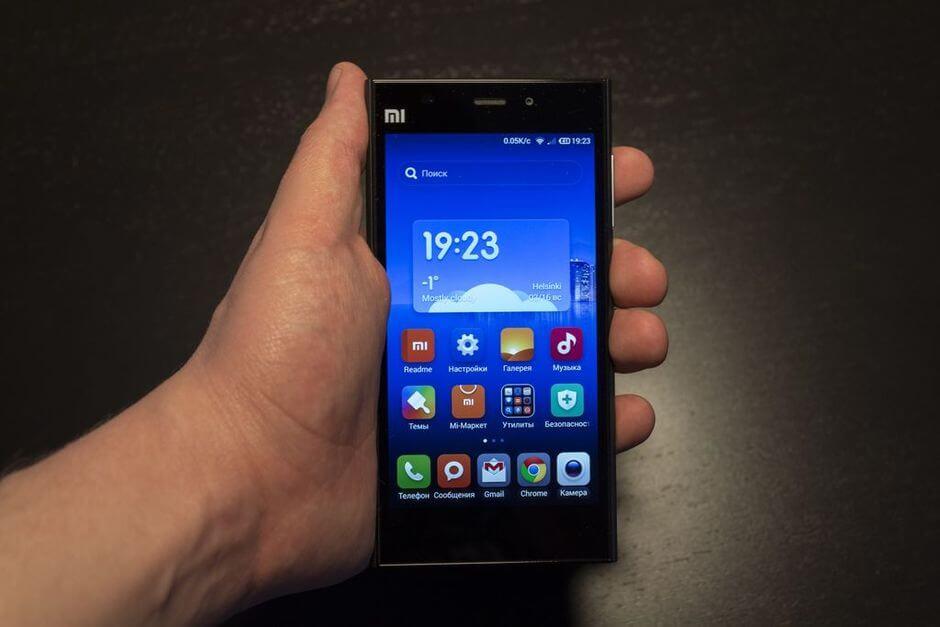 экран Xiaomi Mi3