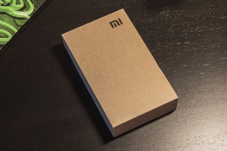 Xiaomi Redmi Note коробка