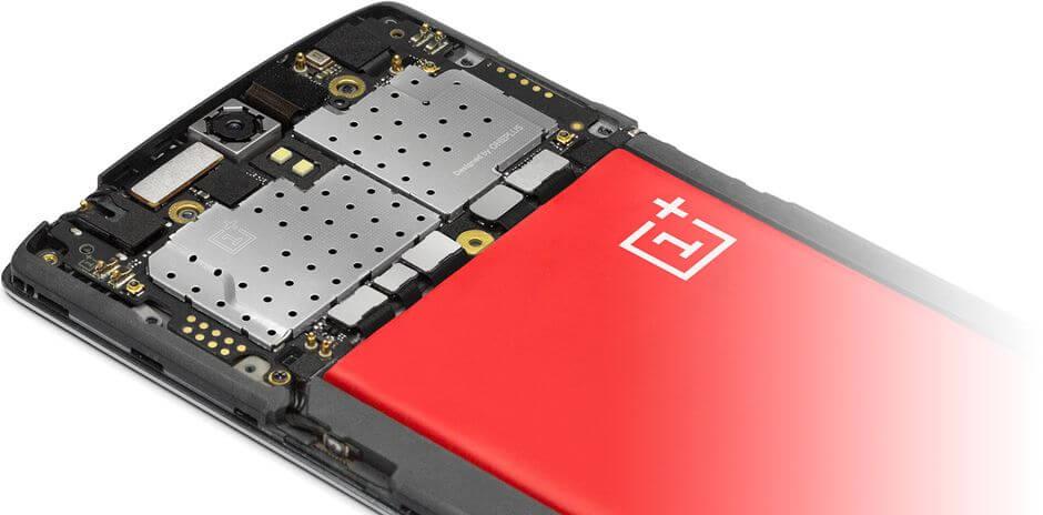 внутренности OnePlus One