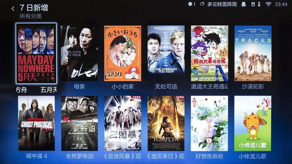 сервис онлайн-видео в Xiaomi Mi TV 2