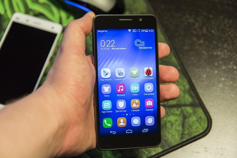 экран в Huawei Honor 6