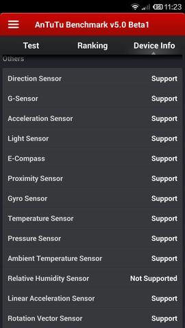 датчики в Xiaomi Mi4