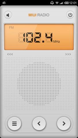 FM-радио в Xiaomi Mi4
