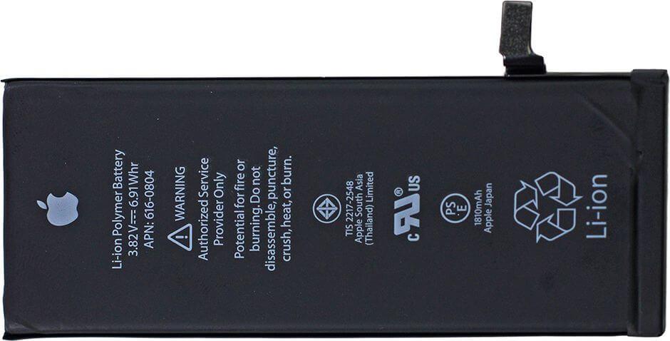 аккумулятор в Apple iPhone 6 (источник ifixit.com)