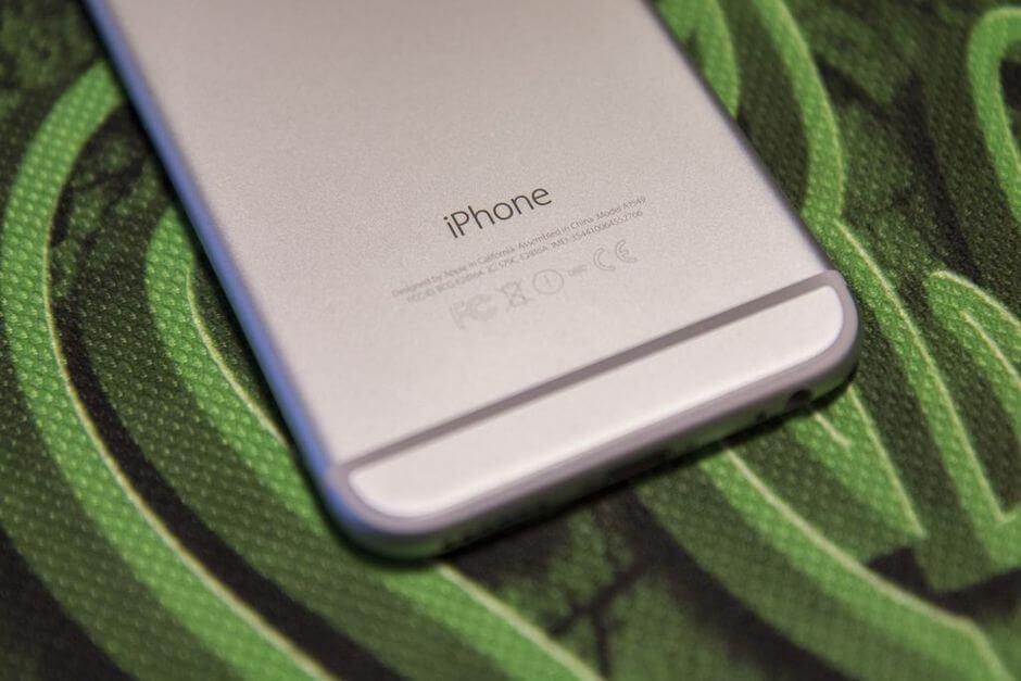 толстые полоски прикрывающие антенны в iPhone 6