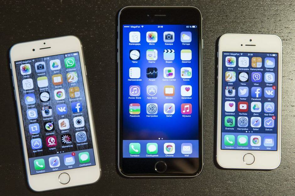 экран в Apple iPhone 6 Plus