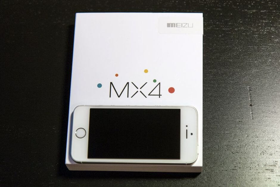 упаковка Meizu MX4