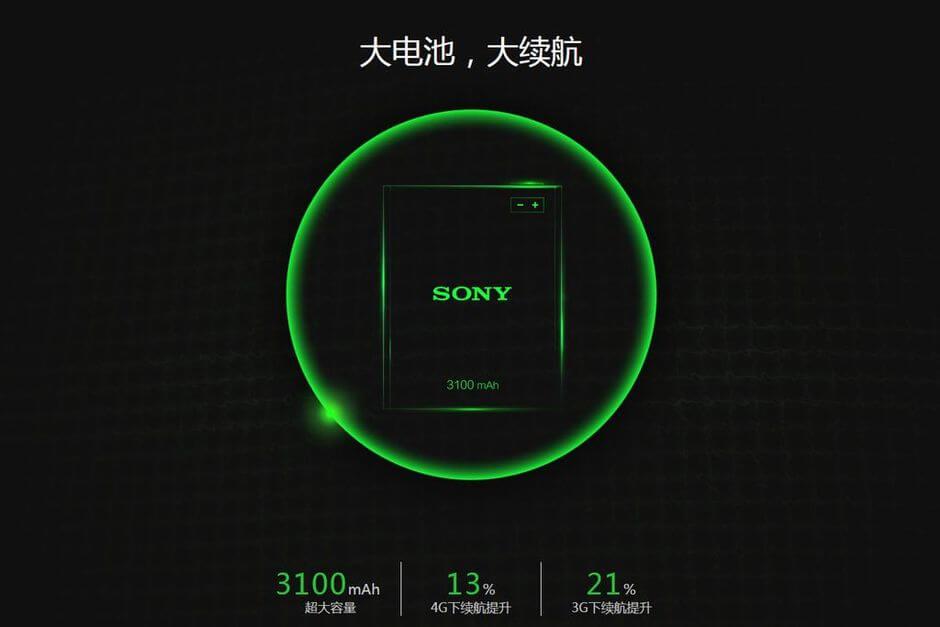 прирост автономности в Meizu MX4