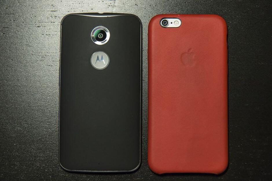 внешний вид Motorola Moto X 2nd gen.