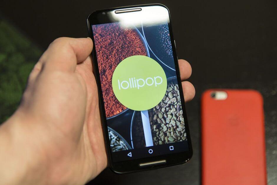 Android 5.0 Lollipop для Motorola Moto X 2nd gen.