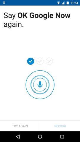 функция Голосовые команды в Motorola Moto X 2nd gen.