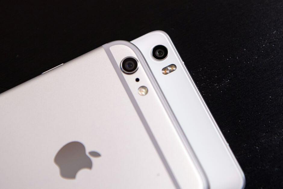 Xiaomi Mi Note на фоне конкурентов