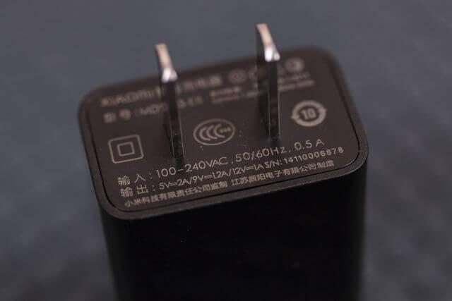 адаптер питания Xiaomi Mi Note