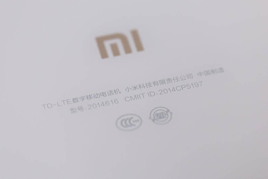 сертификация Xiaomi Mi Note
