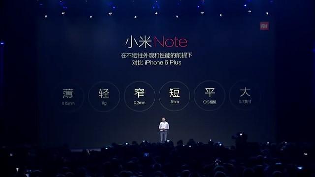 презентация Xiaomi MiNote