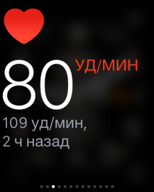 пульсометр в Apple Watch Sport