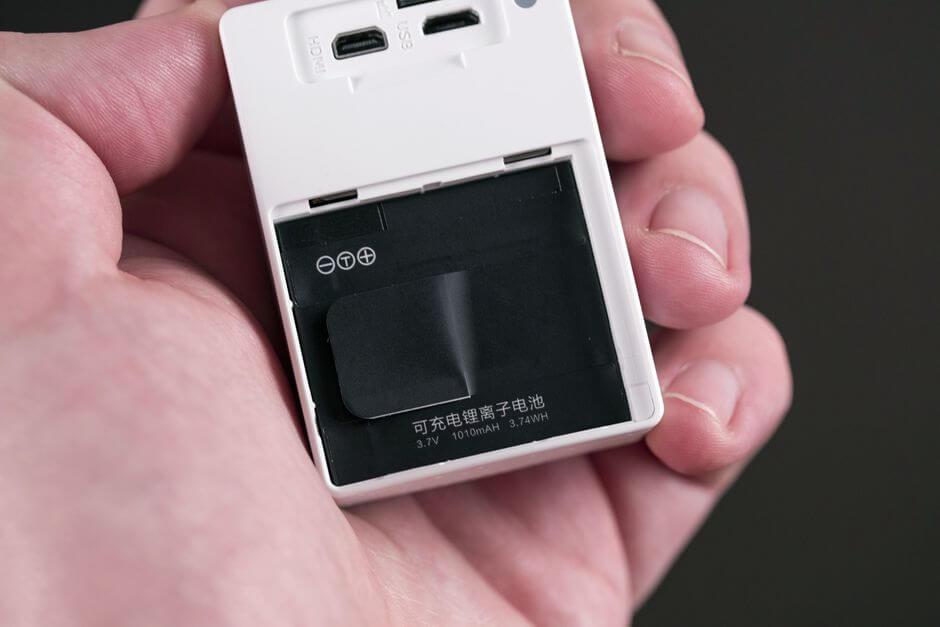 аккумулятор в Xiaomi Yi