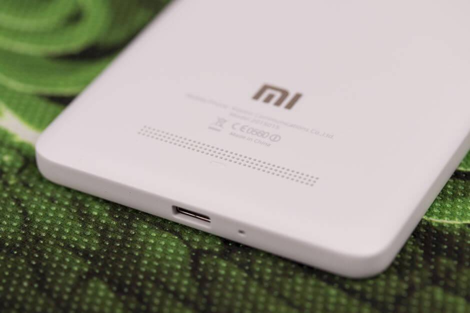 внешний динамик в Xiaomi Mi4i