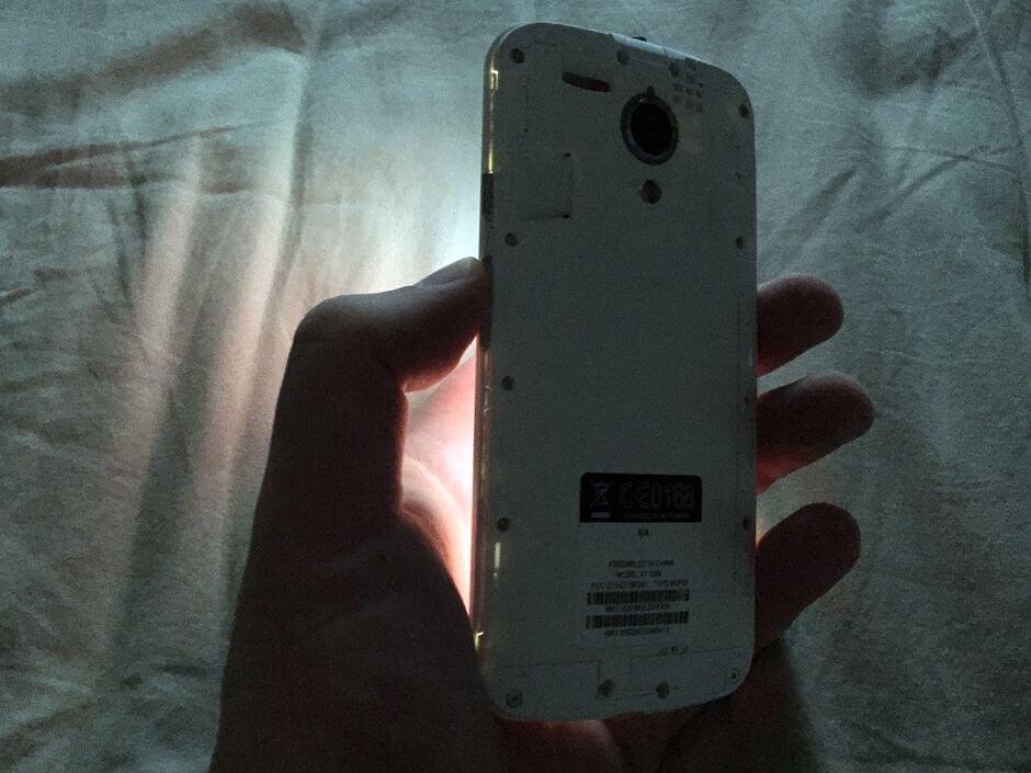 огрехи в сборке Motorola Moto G 2nd gen