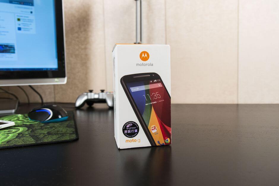 коробка Motorola Moto G 2nd gen
