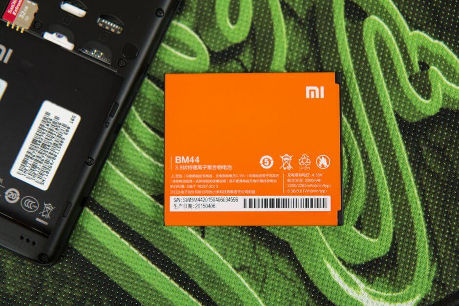 аккумулятор в Xiaomi Redmi 2 LTE Enhanced