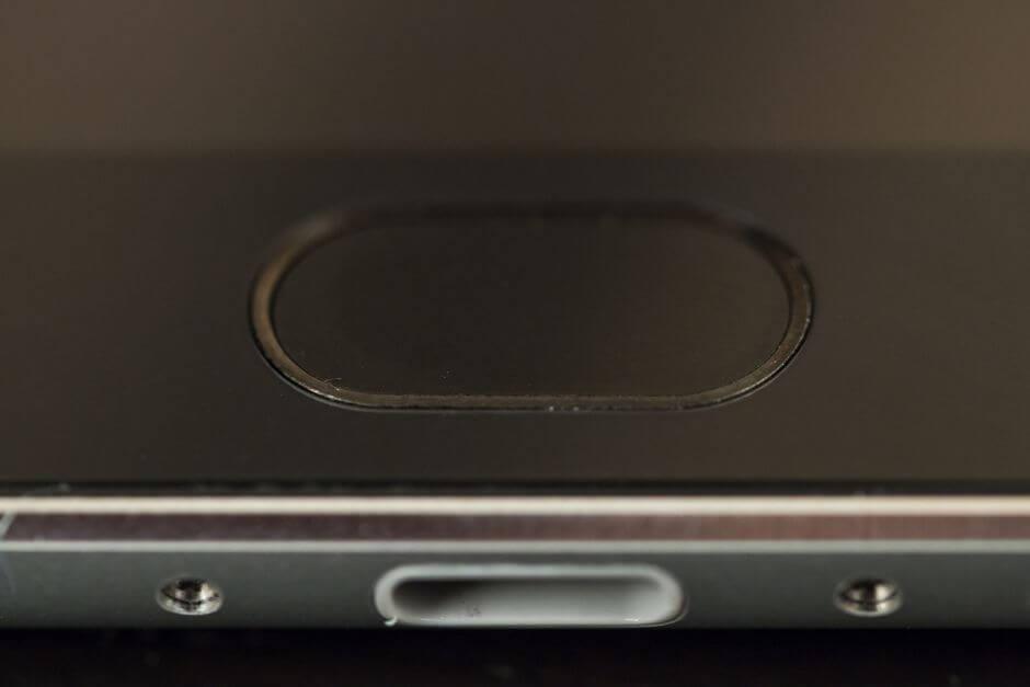 датчик отпечатков пальцев в Meizu MX5