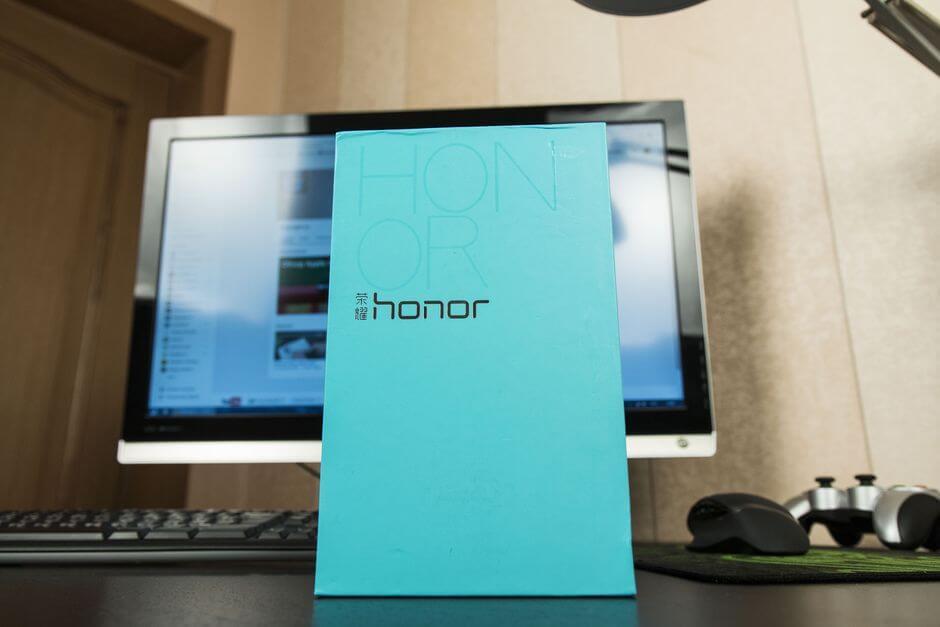 упаковка Huawei Honor X2