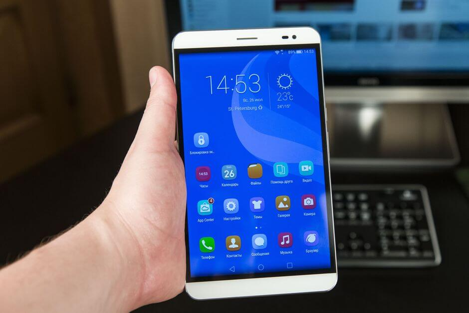 огромные размеры Huawei Honor X2