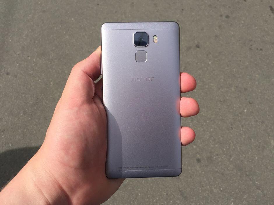 Подробный обзор Huawei Honor 7
