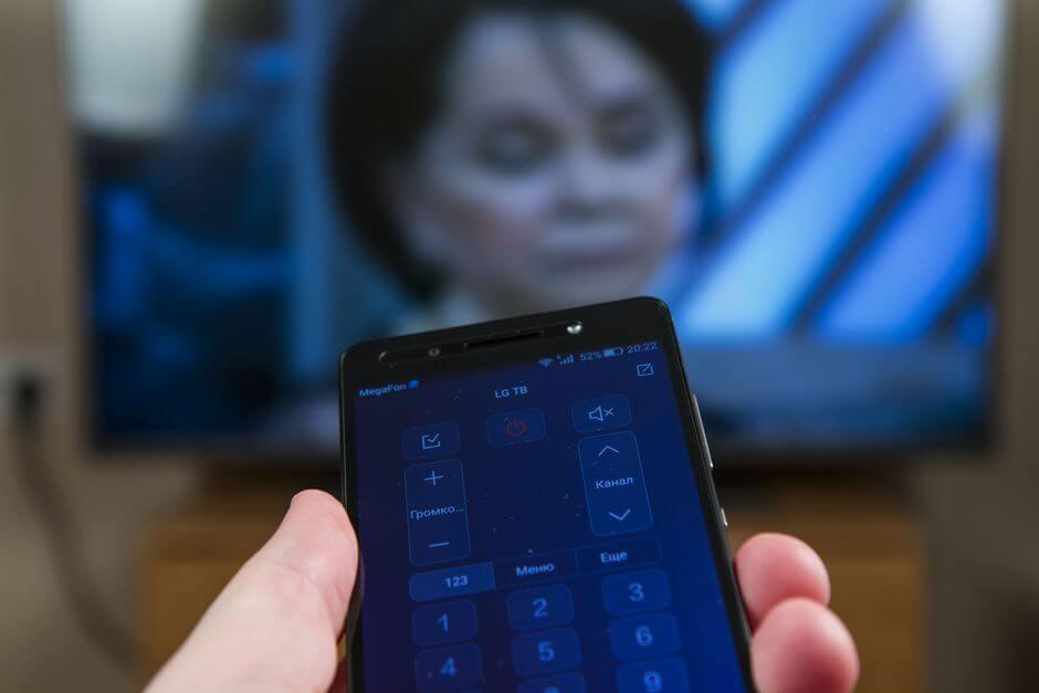 управление телевизором с помощью Huawei Honor 7