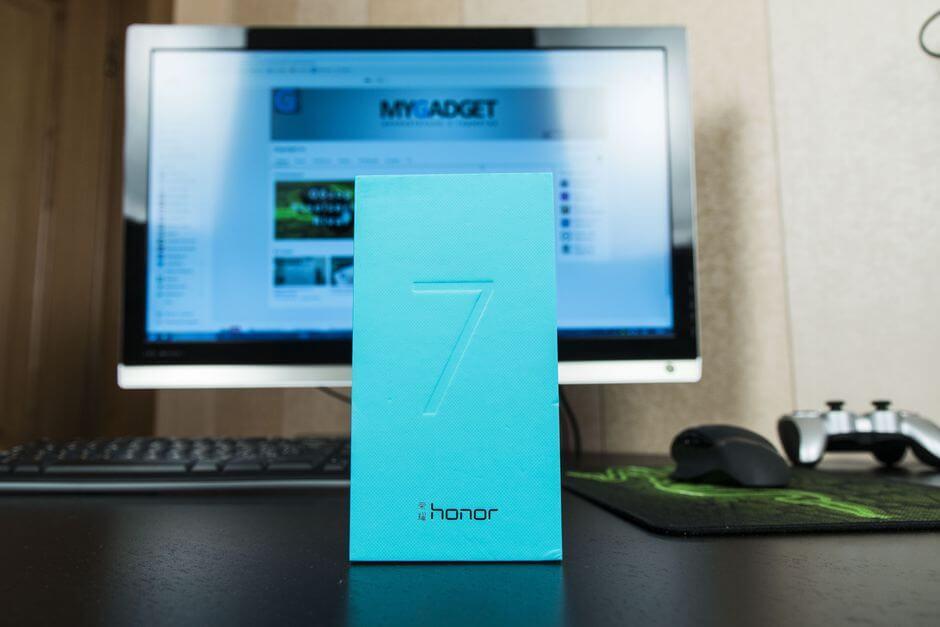 коробка Huawei Honor 7