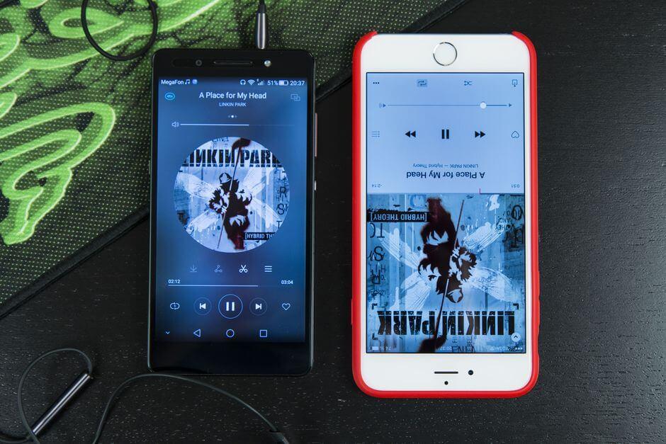 качество звука в наушниках Huawei Honor 7