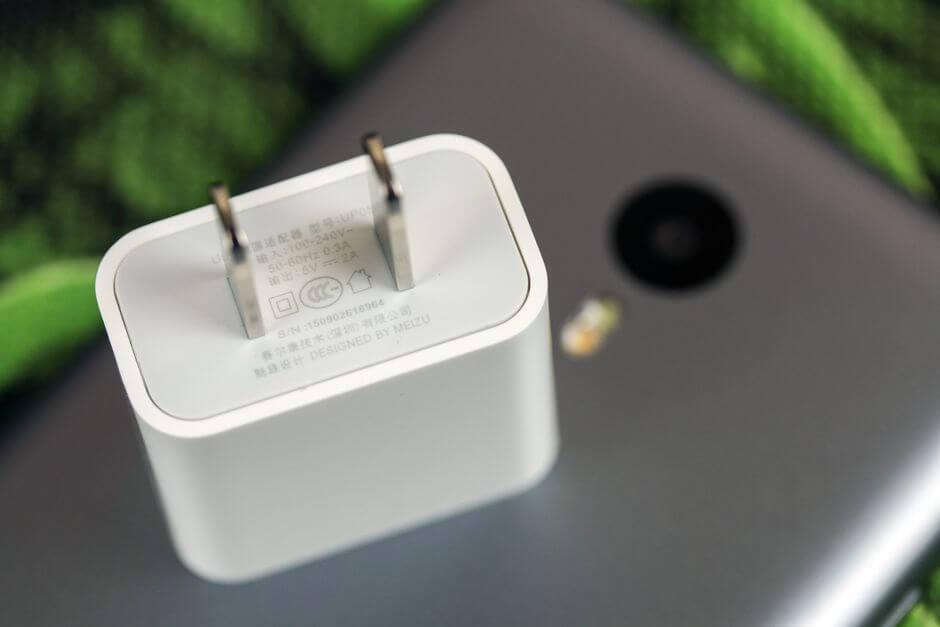 адаптер питания Meizu M2 Note