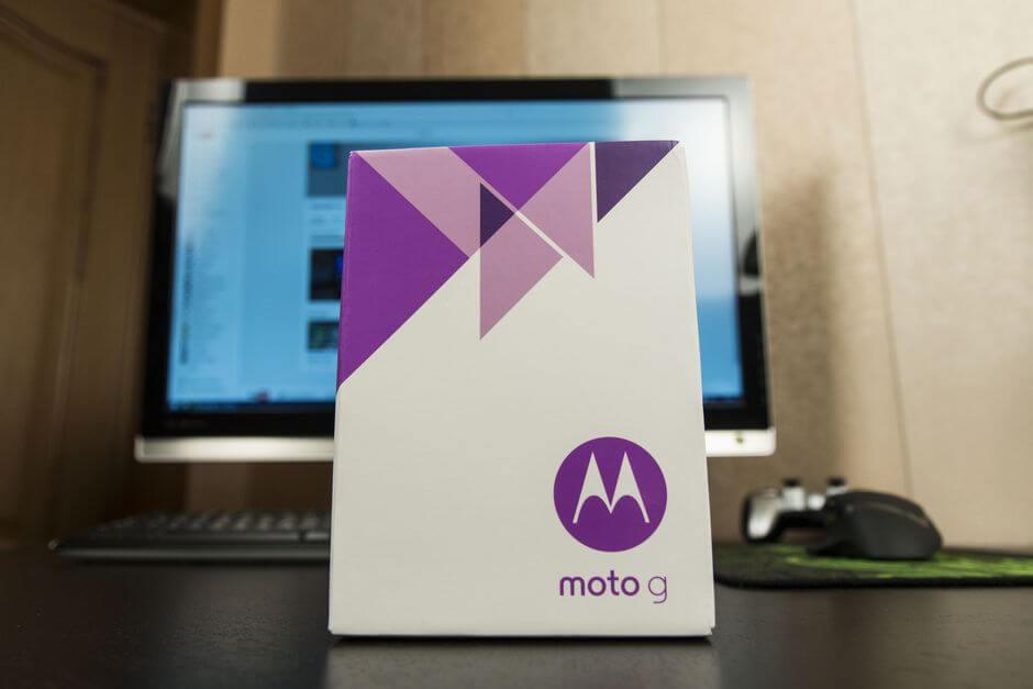 упаковка Motorola Moto g 3rd gen