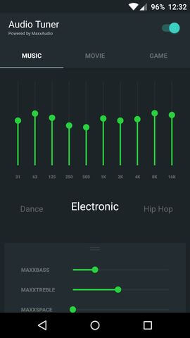 приложение Audio Tuner для OnePlus 2