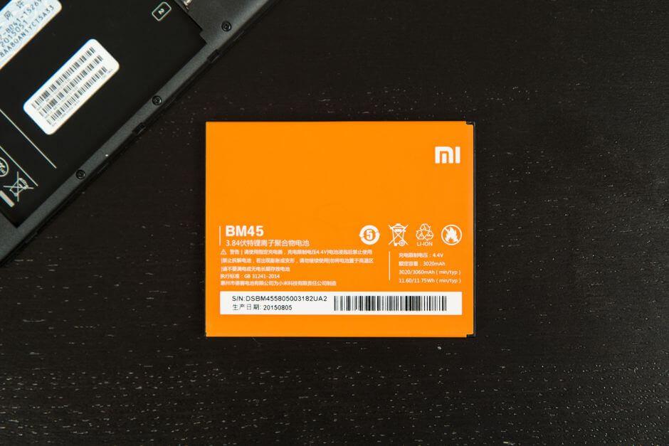 аккумулятор в Xiaomi Redmi Note 2