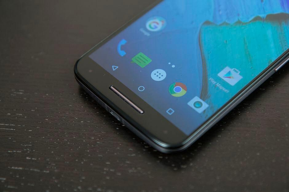 наэкранные кнопки Motorola Moto X Style