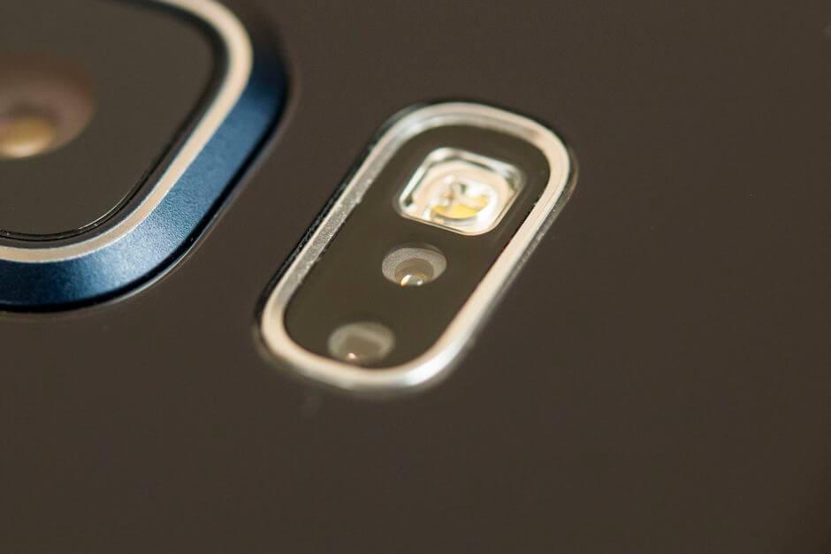 датчик измерения пульса Samsung Galaxy Note 5