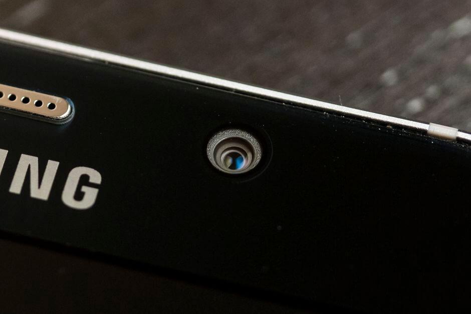 фронтальная камера Samsung Galaxy Note 5