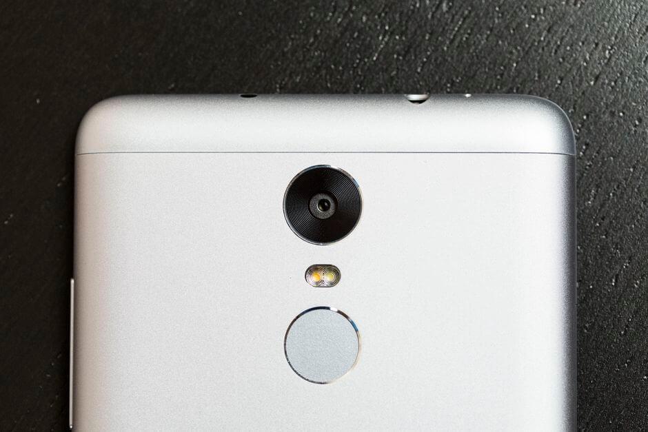 сканер отпечатков пальцев в Xiaomi Redmi Note 3
