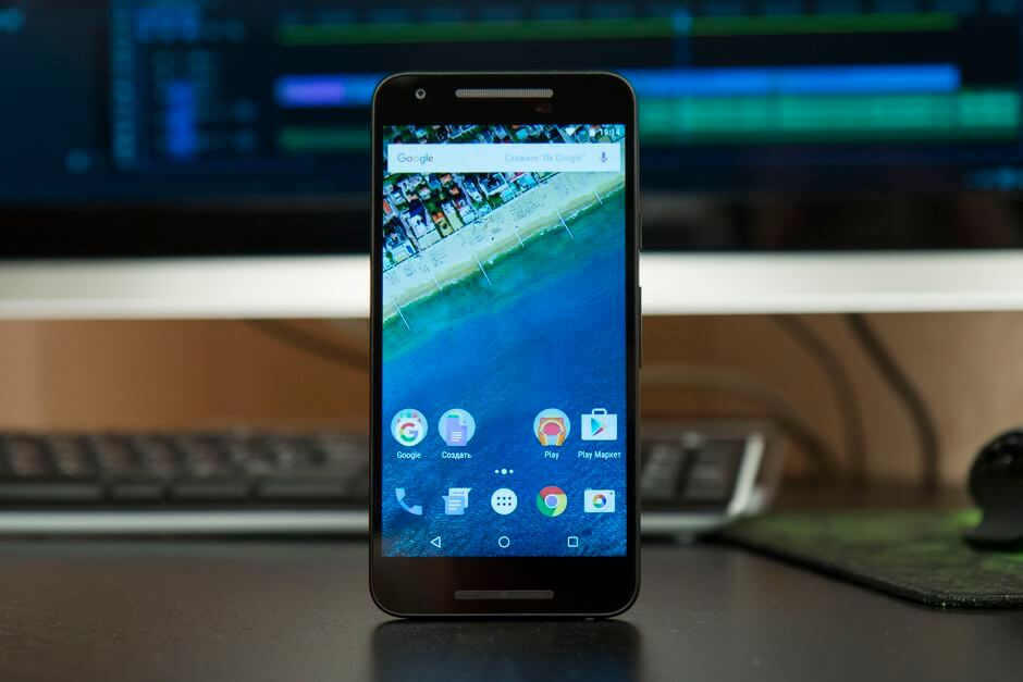 экран в LG Nexus 5X